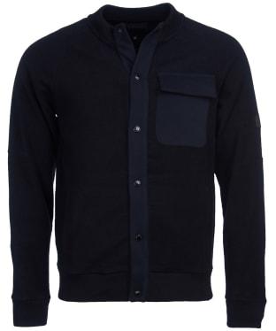 Men's Barbour International Sensor Snap Thru Sweater