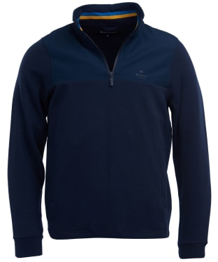 Men's Barbour Cetus Half Zip Sweater - Navy
