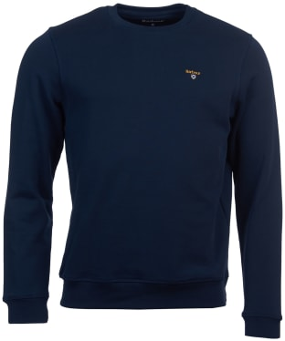 Men's Barbour Saltire Crew Sweater - Navy
