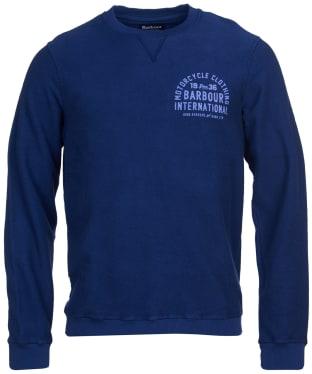 Men's Barbour International Lock Sweat - Regal Blue