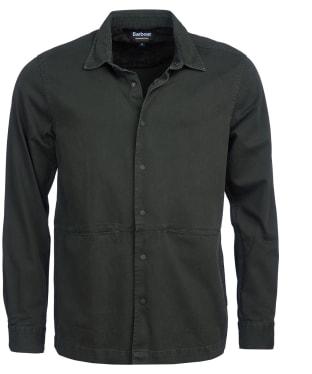 Men's Barbour International Endo Overshirt - Jungle Green