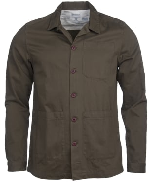 Men's Barbour International Steve McQueen Jake Overshirt - Olive