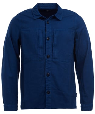 Men's Barbour Kilda Overshirt - Indigo