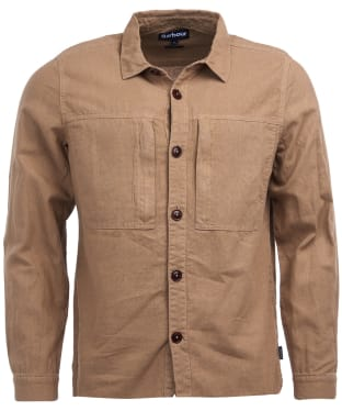 Men's Barbour Kilda Overshirt - Stone