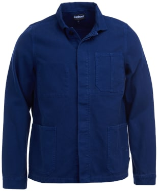 Men's Barbour Duncansea Overshirt - Regal Blue