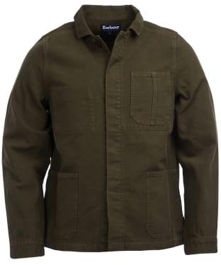 Men's Barbour Duncansea Overshirt - Dusty Olive