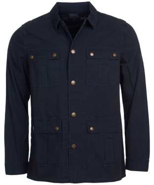 Men's Barbour International Steve McQueen Chico Overshirt - Navy