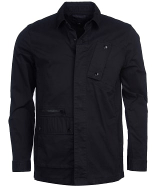 Men's Barbour International Remote Overshirt - Black