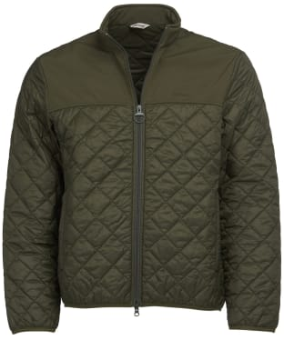 Men's Barbour Staindrop Quilted Jacket - Olive