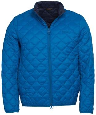 Men's Barbour Belk Quilted Jacket - Aqua