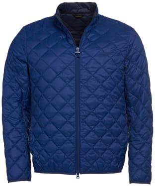 Men's Barbour Belk Quilted Jacket - Regal Blue