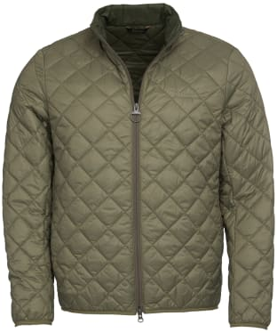 Men's Barbour Belk Quilted Jacket - Dusty Olive