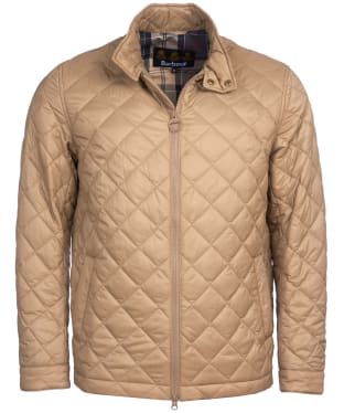 Men's Barbour Woban Quilted Jacket - Sand