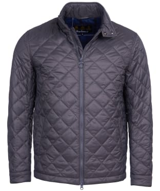 Men's Barbour Woban Quilted Jacket - Charcoal