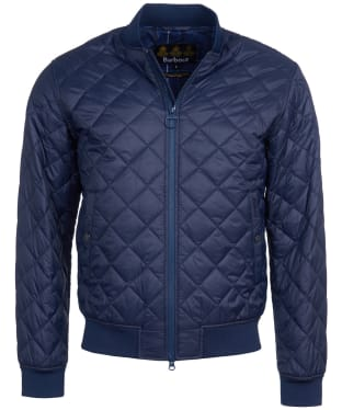 Men's Barbour Gabble Quilted Jacket - Navy