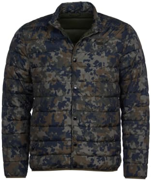 Men's Barbour International Camo Quilted Jacket