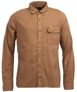 Men's Barbour Stonebower Shirt - Military Brown