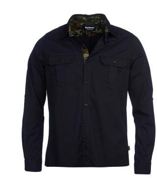 Men's Barbour International Carving Shirt - Black