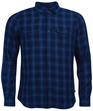 Men's Barbour International Frame Shirt - Indigo