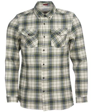 Men's Barbour International Steve McQueen Max Shirt - Pea Green
