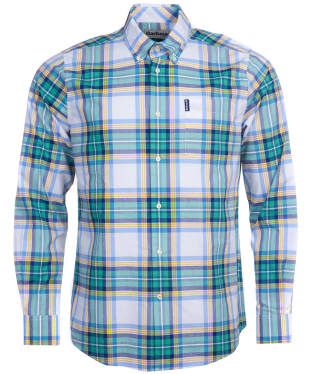 Men's Barbour Highland Check 24 Tailored Shirt