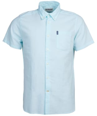 Men's Barbour Oxford 9 S/S Tailored Shirt - Mint