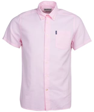 Men's Barbour Oxford 9 S/S Tailored Shirt - Pink