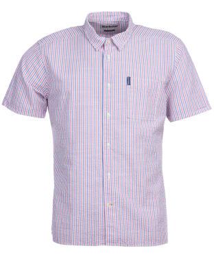 Men's Barbour Seersucker 8 S/S Summer Shirt