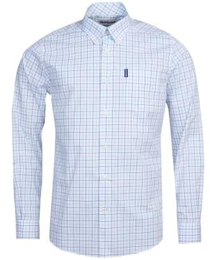 Men's Barbour Tattersall 16 Tailored Shirt - Green