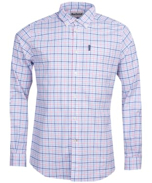 Men's Barbour Tattersall 17 Tailored Shirt - Pink