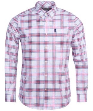 Men's Barbour Country Check 8 Tailored Shirt - Red Check