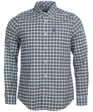 Men's Barbour Country Check 9 Tailored Shirt - Green Check