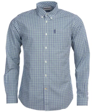 Men's Barbour Gingham 16 Tailored Shirt - Green