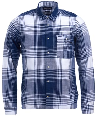 Men's Barbour Coast Check Shirt - Navy Check