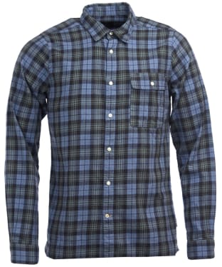 Men's Barbour Brownsea Shirt - Green Check