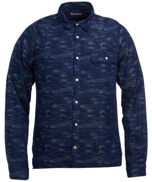 Men's Barbour Wave Shirt - Indigo