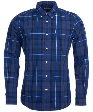 Men's Barbour Sandwood Shirt - Inky Blue