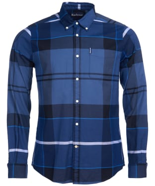 Men's Barbour Sutherland Shirt - Inky Blue