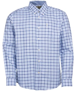 Men's Barbour Abberton Shirt - Blue Check