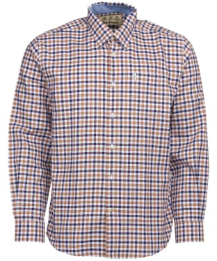 Men's Barbour Abberton Shirt - Sandstone Check
