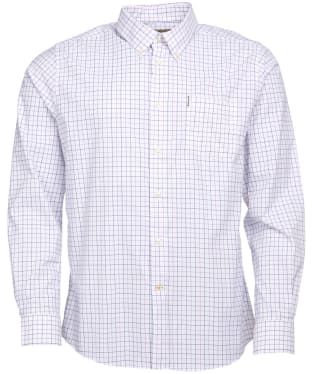Men's Barbour Batley Performance Shirt - Heather Check