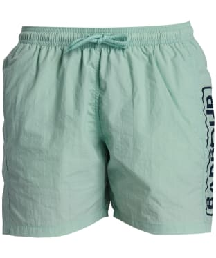 Men's Barbour International Large Logo Swim Shorts - Peppermint