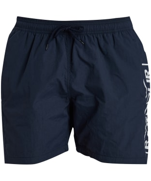 Men's Barbour International Large Logo Swim Shorts - International Navy