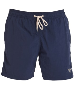 "Men's Barbour Essential Logo 5"" Swim Shorts - Navy"