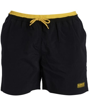 Men's Barbour International Edge Trim Swim Shorts - Black