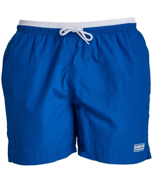 Men's Barbour International Edge Trim Swim Shorts - Neela Blue