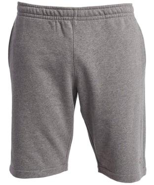 Men's Barbour Saltire Sweat Shorts - Grey Marl