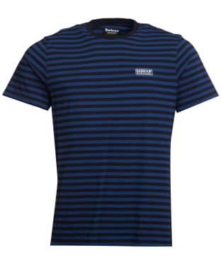 Men's Barbour International Equal Stripe Tee - Regal Blue