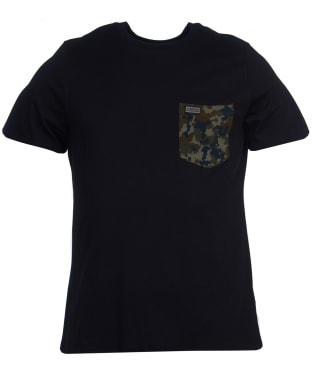 Men's Barbour International Hex Pocket Tee - Black