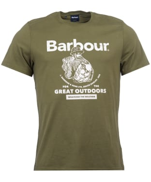 Men's Barbour Outdoors Tee - Light Moss